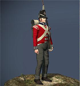 Kings German Legion Foot NTW