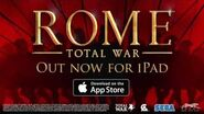 ROME Total War - iPad release trailer