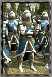 French Dismounted Noble Knights