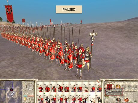 34 roman infantry triarii screen