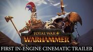 Total War WARHAMMER - In-Engine Cinematic Trailer Karl Franz of the Empire ESRB