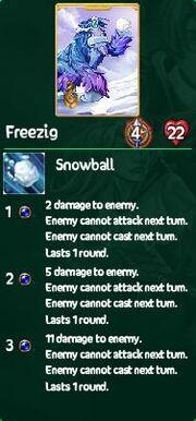 Freezig