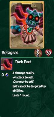 Belagras card