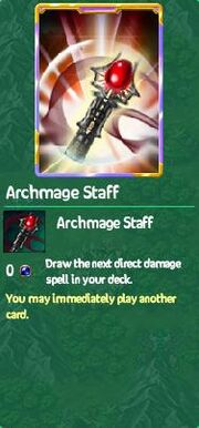 Archmage staff