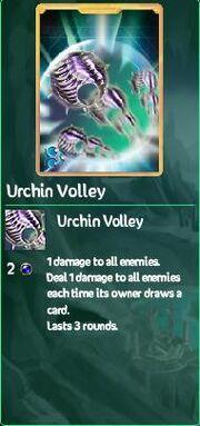 Urchin Volley