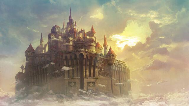 File:Castle tower private commission by gamefan84-d6dus3e.jpg
