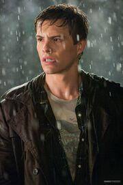 Liam in the rain