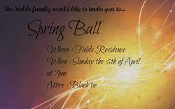 Spring Ball invite