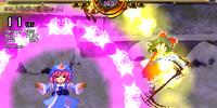 Scarlet Weather Rhapsody: Yuyuko Saigyouji's Player Spellcards