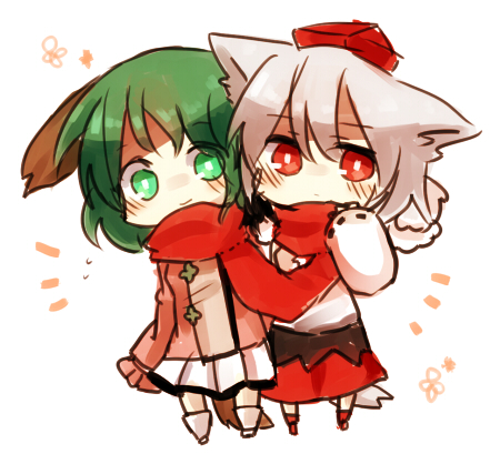 File:Touhou - Momiji & Kyouko2.jpg