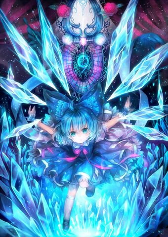 File:Cirno in a gemstone.jpg