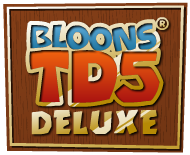 File:Bloons TD5 Deluxe Logo.png