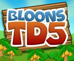 Bloons TD5 Logo