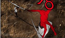 Koon blocking red guy