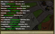 chat commands town of salem