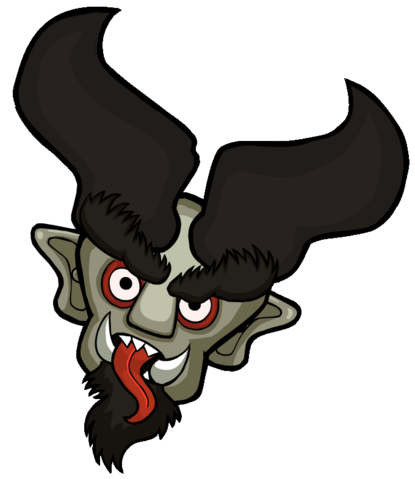 File:Krampus Head.png