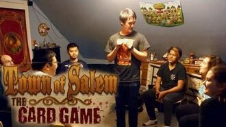 Town of Salem Card Game! - 7 Players 5 Rounds & 1 Moderator