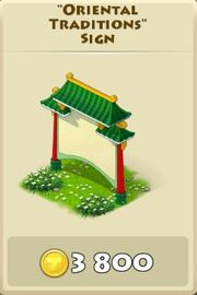 Oriental tradiions sign