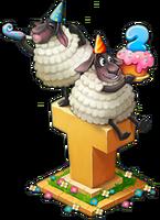 2nd Birthday Sheep