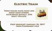 Electric Train Artifact