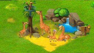 Township Zoo - Giraffe-family