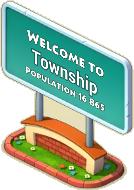 Default Town Sign