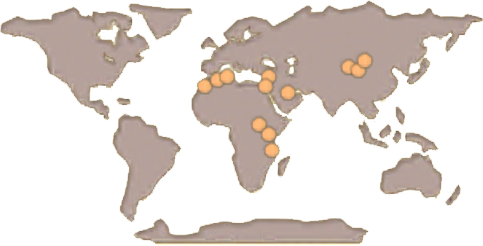 Gazelle Map