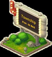 Lamp Town Sign