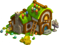 Easter Bunny's House