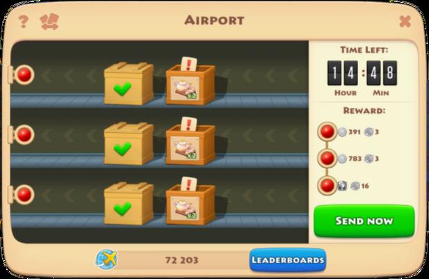 Airplane Quantities