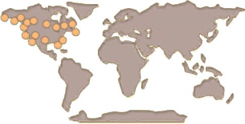 Bald Eagle Map