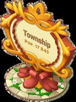 Artisan Town Sign