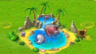 Township Zoo - Hippopotamus-family