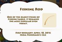 Fishing Rod Artifact