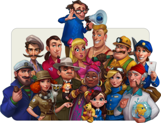 Township Characters