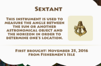 Sextant Artifact
