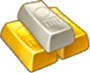 Gold Platinum Ingots Reward