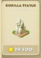 Gorilla-Statue