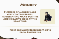 Monkey Artifact