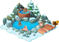 Snow Monkey Enclosure