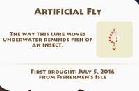 Artificial Fly Artifact