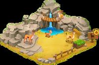 Gazelle Enclosure