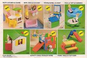 Little Tikes dollhouse add ons