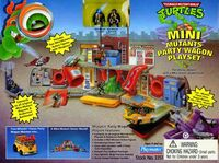 Teenage Mutant Ninja Turtles Mini Mutants Party Wagon playset