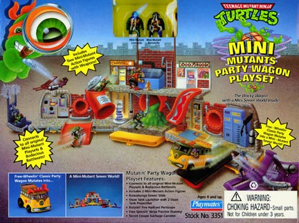 File:Teenage Mutant Ninja Turtles Mini Mutants Party Wagon playset.jpg