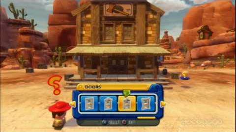 Toy Story 3 Toy Box Mode Demo