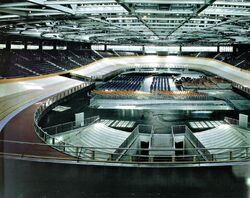 Berlin Velodrome inside