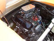 Saab Sonett III Ford V4 engine