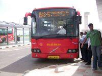 Bangalore Red Bus