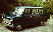 Ford Transit as minibus 1972